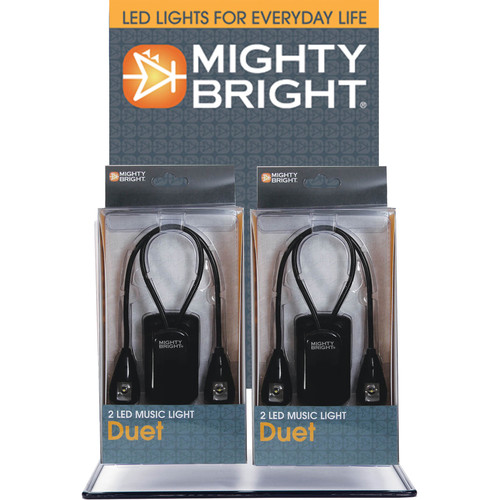 Mighty Bright Duet LED Music Light (10-Pack)
