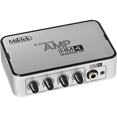 Miktek HM4 4-Channel Headphone Amplifier