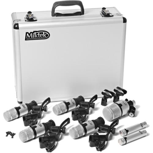 Miktek PMD7 7-Piece Drum Microphone Kit