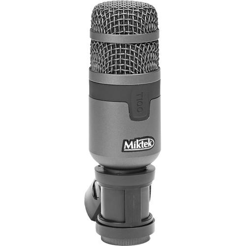 Miktek T100 Dynamic Instrument Microphone (Dark Gray)