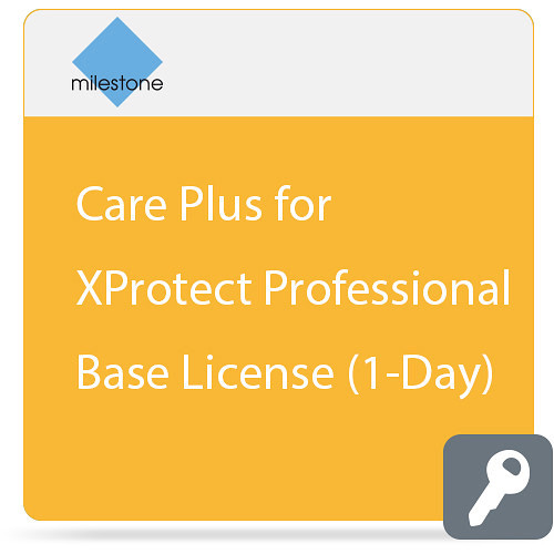 Milestone Care Plus for XProtect Corporate Base License (1-Day)