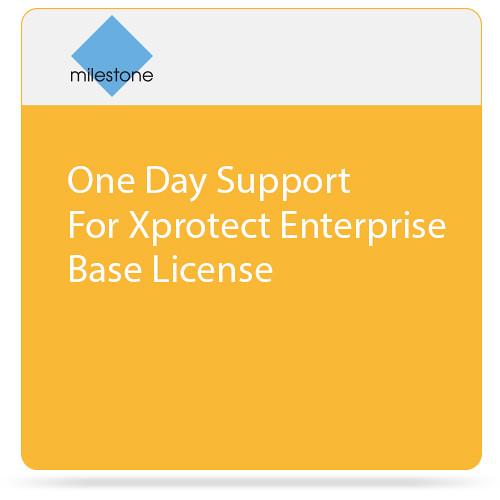 Milestone Care Plus for XProtect Enterprise Base License (1-Day)