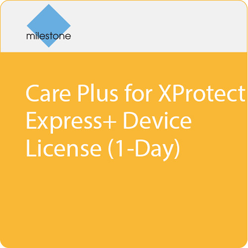 Milestone Care Plus for XProtect Express+ Device License (1-Day)