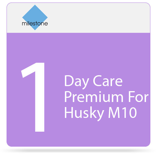 Milestone Care Premium for Husky M10 (1-Day)