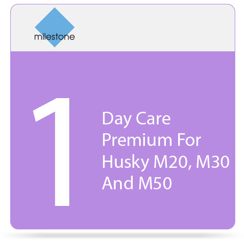 Milestone Care Premium for Husky M20, M30, and M50 (1-Day)