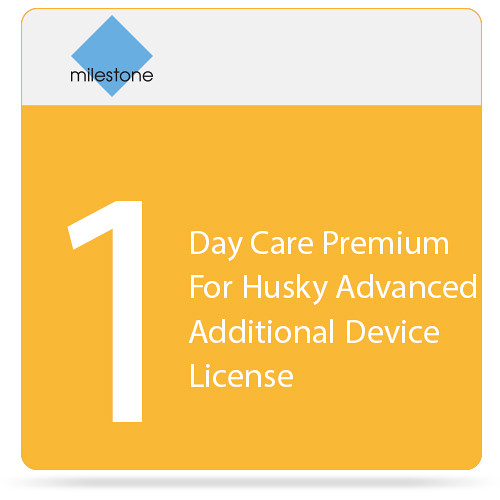 Milestone Care Premium for Husky M500A and M550A Additional Device (1-Day)