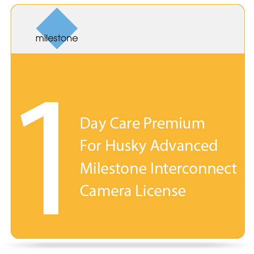 Milestone Care Premium for Husky M500A and M550A Interconnect Camera (1-Day)