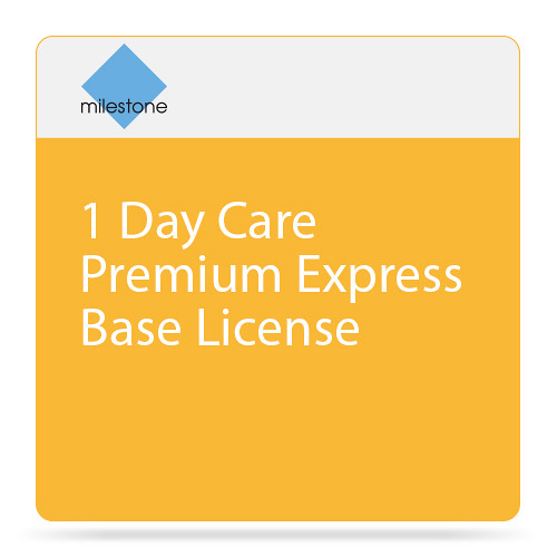 Milestone Care Premium for XProtect Enterprise Base License Software (1-Day)
