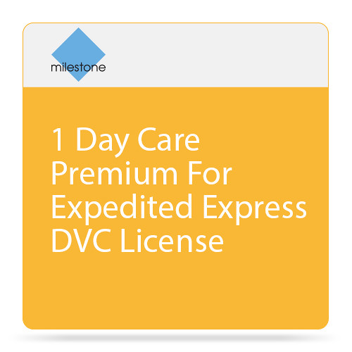 Milestone Care Premium for XProtect Enterprise Device License Software (1-Day)