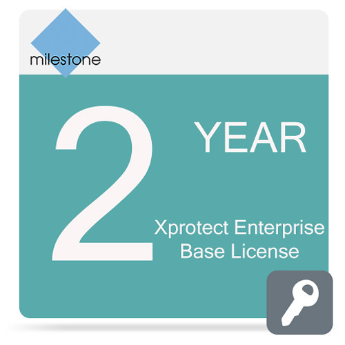 Milestone Care Premium for XProtect Enterprise Base License Software (2-Years)