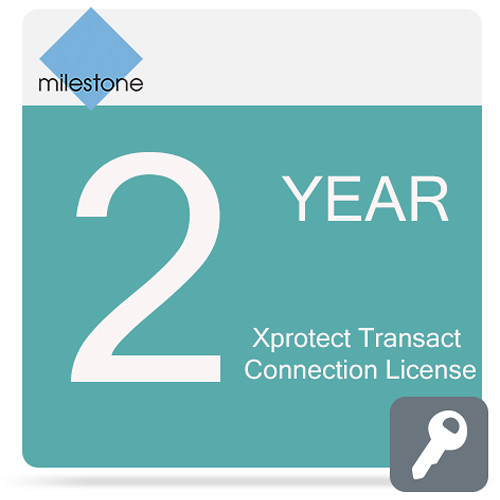 Milestone Care Premium for XProtect Transact Connection License Software (2-Years)
