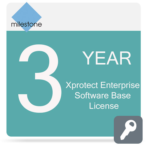 Milestone Care Premium for XProtect Enterprise Base License Software (3-Years)