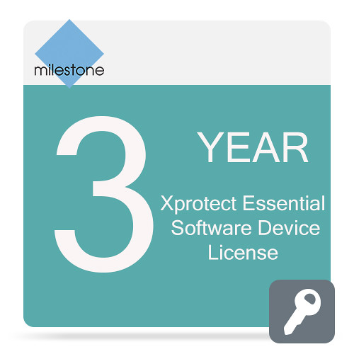 Milestone Care Premium for XProtect Essential Device License Software (3-Years)