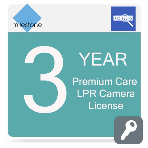Milestone Care Premium for XProtect LPR Camera License (3-Year)