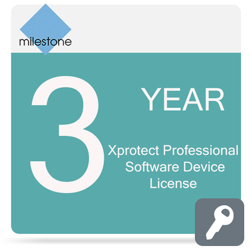 Milestone Care Premium for XProtect Professional Device License Software (3 Years)