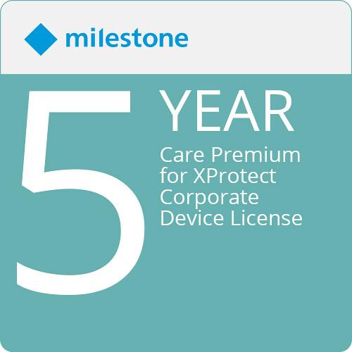 Milestone Care Premium for XProtect Corporate Device License (5-Year)
