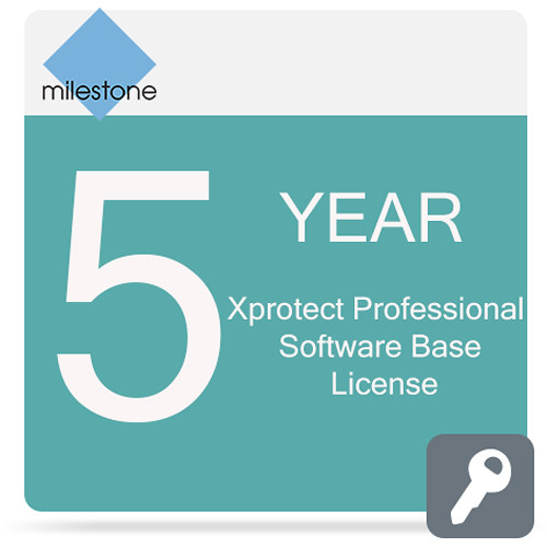 Milestone Care Premium for XProtect Professional Base License Software (5 Years)