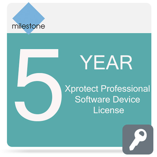 Milestone Care Premium for XProtect Professional Device License Software (5 Years)