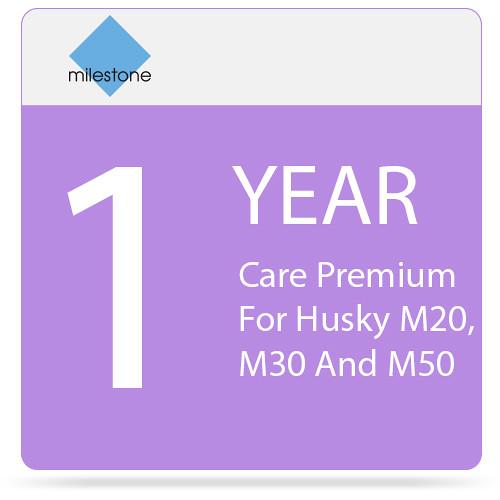 Milestone Care Premium for Husky M20, M30, and M50 (1-Year)