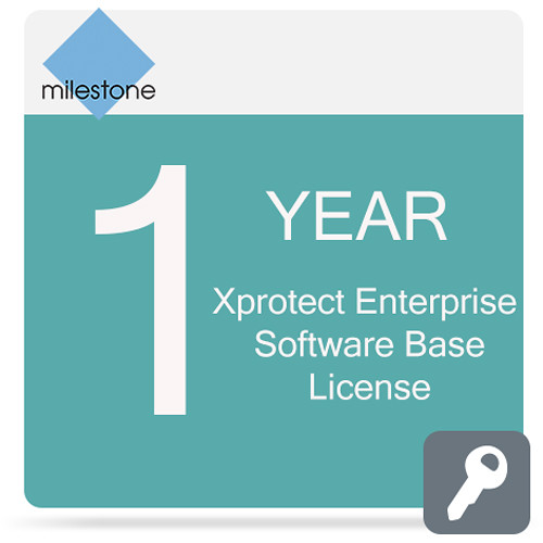 Milestone Care Premium for XProtect Enterprise Base License Software (1-Year)