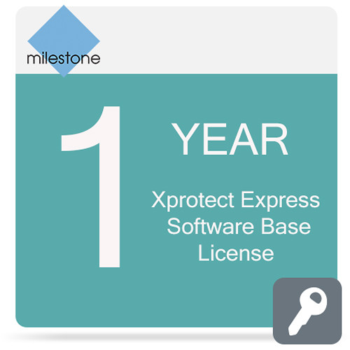 Milestone Care Premium for XProtect Express Base License Software (1-Year)
