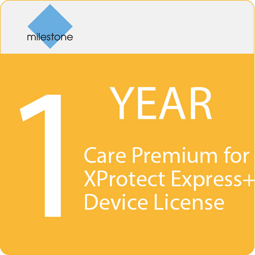 Milestone Care Premium for XProtect Express+ Device License (1-Year)