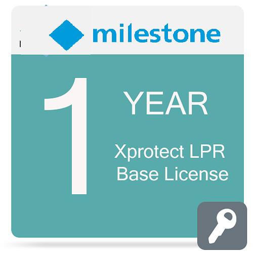 Milestone Care Premium for XProtect LPR Base License (1-Year)