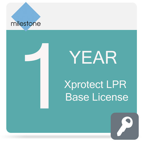 Milestone Care Premium for XProtect LPR Base License (1-Year)