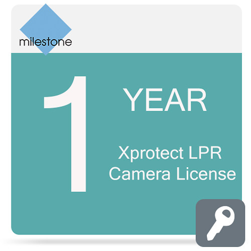 Milestone Care Premium for XProtect LPR Camera License (1-Year)