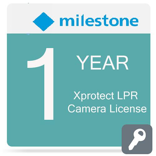 Milestone Care Premium for XProtect LPR Camera License (1-Year)