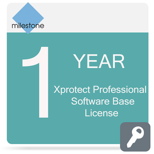 Milestone Care Premium for XProtect Professional Base License Software (1 Year)