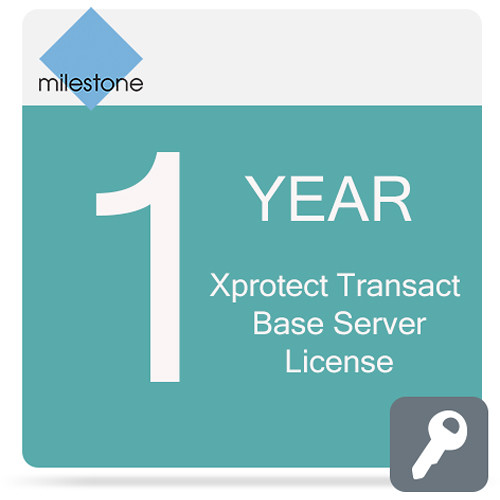 Milestone Care Premium for XProtect Transact Base Server License Software (1-Year)