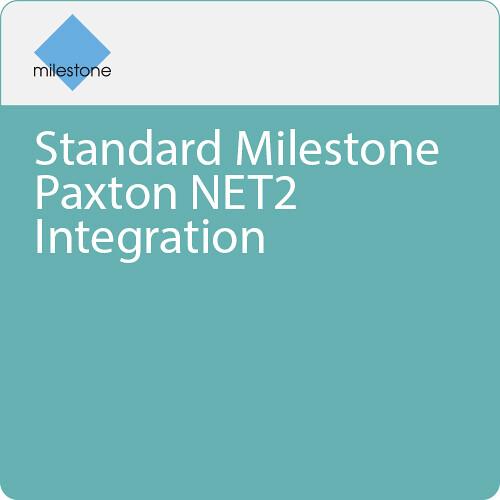 Milestone Standard Milestone Paxton NET2 Integration