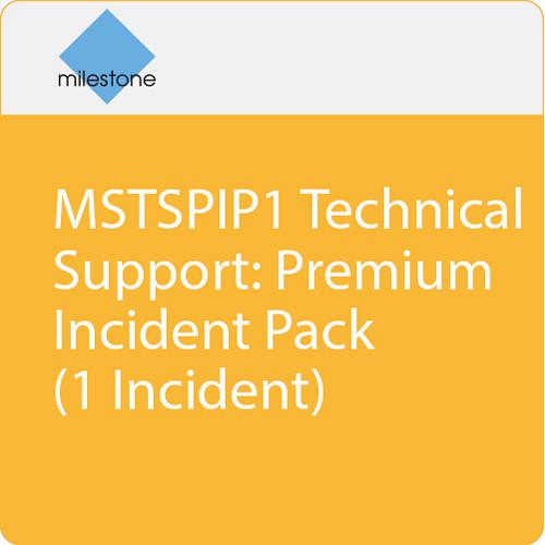 Milestone MSTSPIP1 Technical Support: Premium Incident Pack (1 Incident)