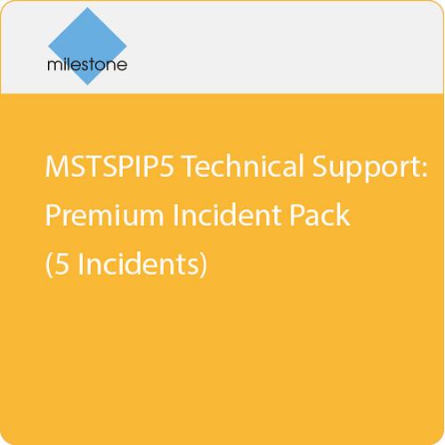 Milestone MSTSPIP5 Technical Support: Premium Incident Pack (5 Incidents)