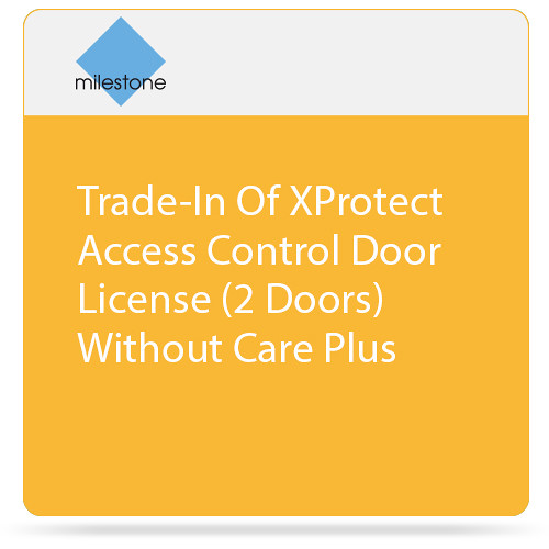Milestone Trade-In Of XProtect Access Control Door License (2 Doors) Without Care Plus