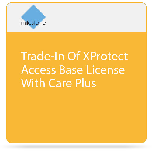 Milestone Trade-In Of XProtect Access Base License With Care Plus