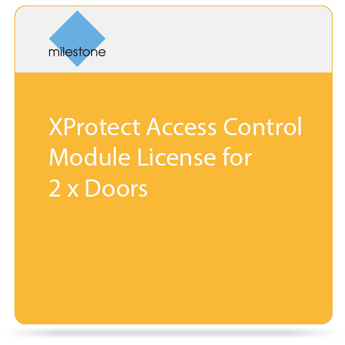 Milestone XProtect Access Control Module License for 2 x Doors