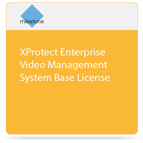 Milestone XProtect Enterprise Video Management System Base License