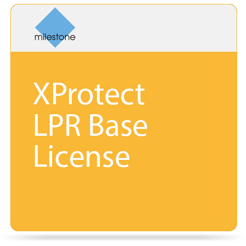 Milestone XProtect LPR Base License