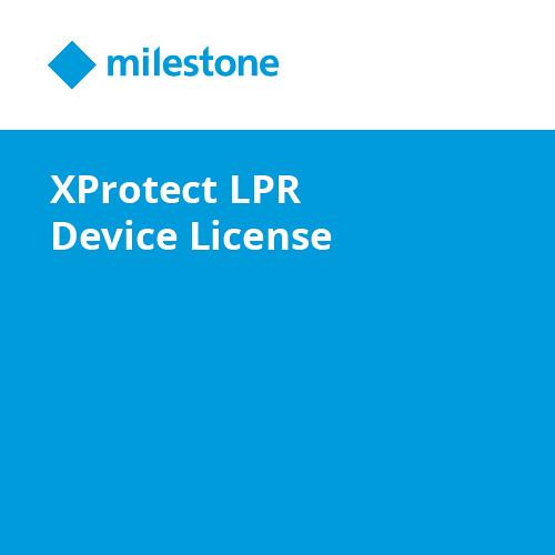 Milestone XProtect LPR Device License