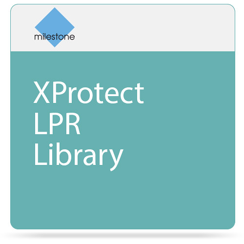 Milestone XProtect LPR Library