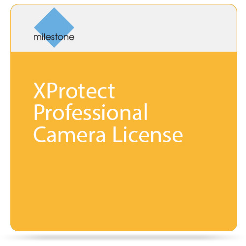Milestone XProtect Professional Camera License