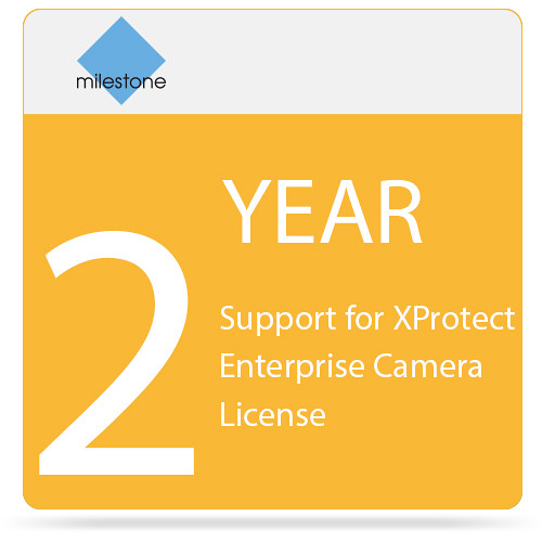 Milestone 2-Year SUP for XProtect Enterprise Camera License