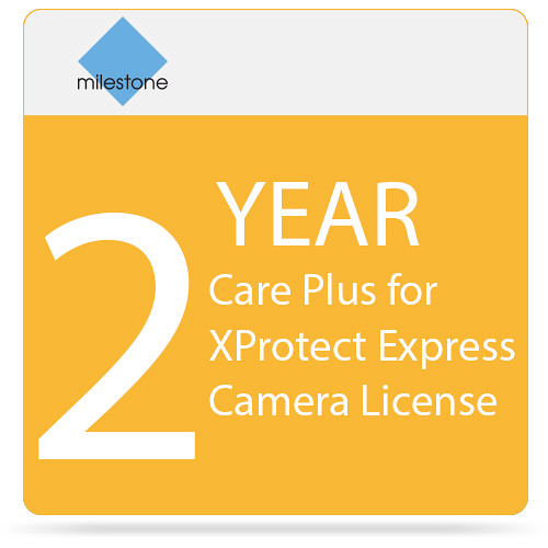 Milestone 2-Year Care Plus for XProtect Express Camera License
