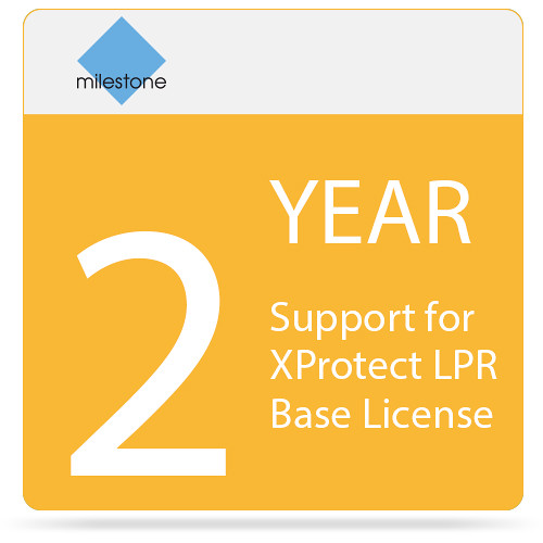 Milestone 2-Year SUP for XProtect LPR Base License