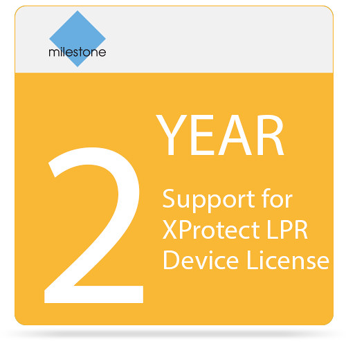 Milestone 2-Year SUP for XProtect LPR Device License