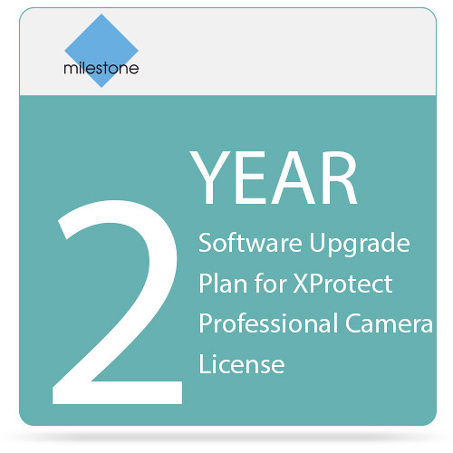 Milestone 2-Year Software Upgrade Plan for XProtect Professional Camera License