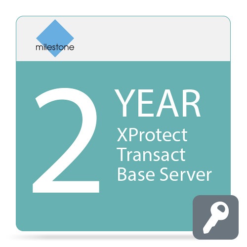 Milestone Care Plus for XProtect Transact Base Server (2-Years)