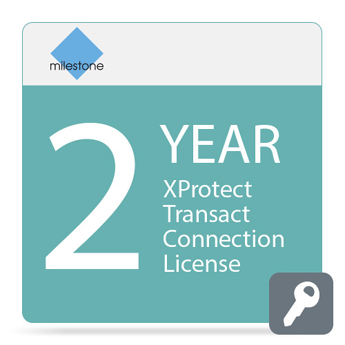 Milestone Care Plus for XProtect Transact Connection License (2-Years)
